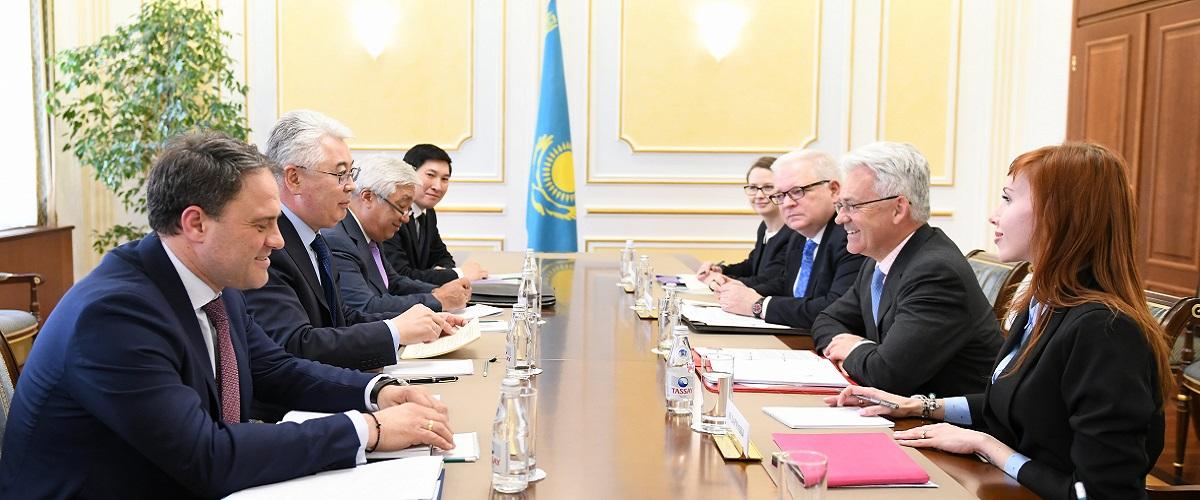 Казахстан и Великобритания: расширение стратегического  партнерства на новом этапе